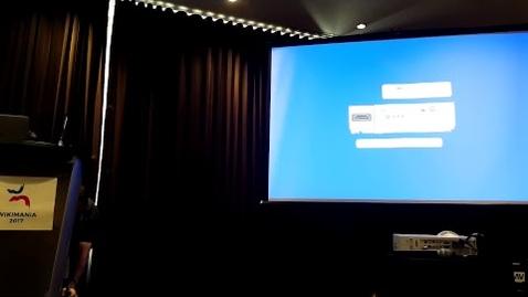 Thumbnail for entry Wikimania 2017 - Lightning talks