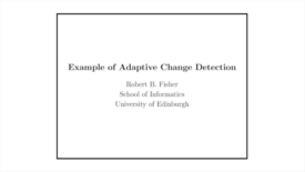 Thumbnail for entry Advanced Vision: Example of adaptive change detection