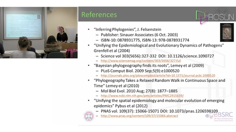 Thumbnail for entry 8. Phylogenetics & Phylogeography(lecture-part 8)