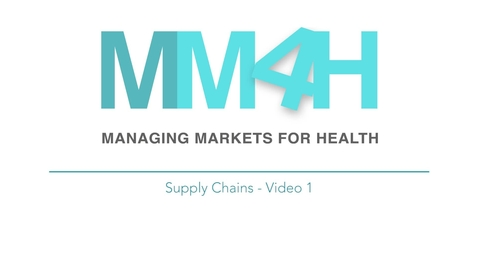 Thumbnail for entry PRASHANT 2 - Supply Chains - Video 1