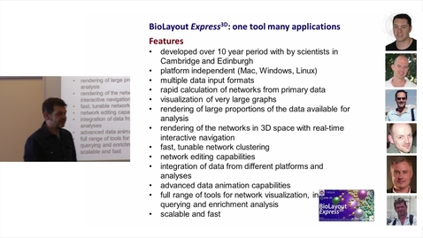 Thumbnail for entry 3. BioLayout Express3D - background and benefits (lecture)