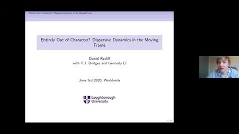 Thumbnail for entry One World Waves Virtual Seminars - D Ratliff