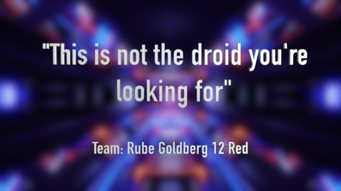 Thumbnail for entry G12 Red - This is not the droid you're Looking for