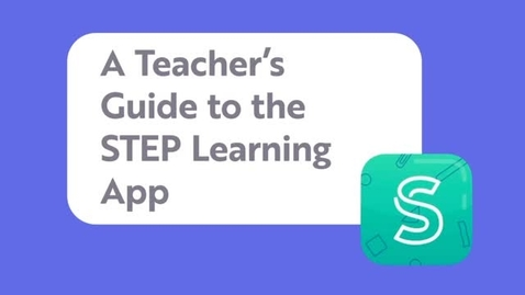 Thumbnail for entry STEP Digital Families Learning App: Teachers' Guide