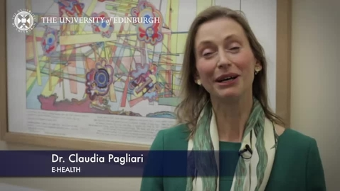 Thumbnail for entry Claudia Pagliari -E-Health - Research In A Nutshell- School of Health in Social Science-15/04/2014