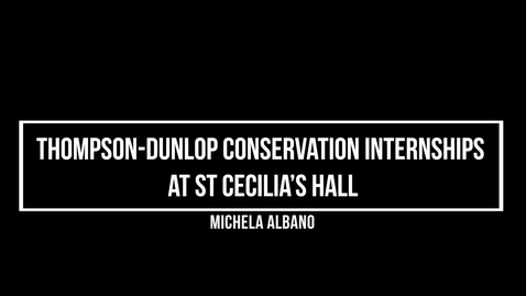 Thumbnail for entry Michela Albano