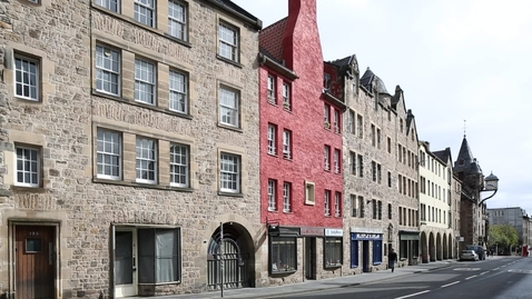 Thumbnail for entry Canongate and High Street, Old Town, Edinburgh