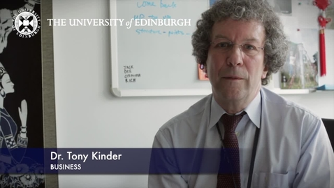 Thumbnail for entry Tony Kinder-Business-Research In A Nutshell-Business School-12/07/2012