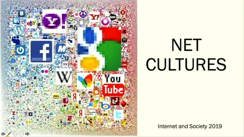 Thumbnail for entry Net cultures 2019