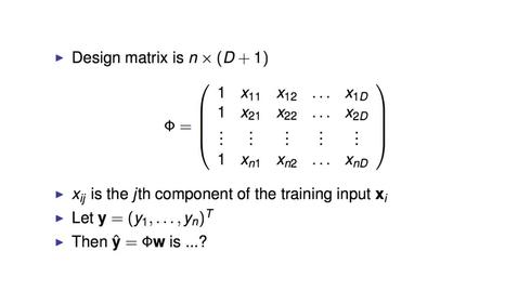 Thumbnail for entry Linear Algebra Formulation