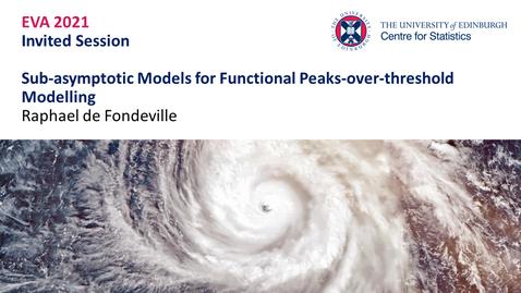 Thumbnail for entry Raphael de Fondeville EVA Talk Preview