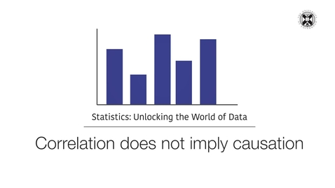 Thumbnail for entry Statistics - Correlation Does Not Imply Causation