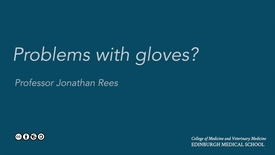 Thumbnail for entry Problems with gloves?