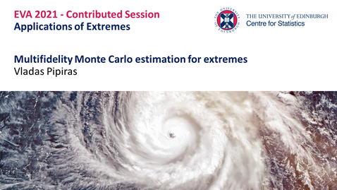 Thumbnail for entry Applications of Extremes: Vladas Pipiras