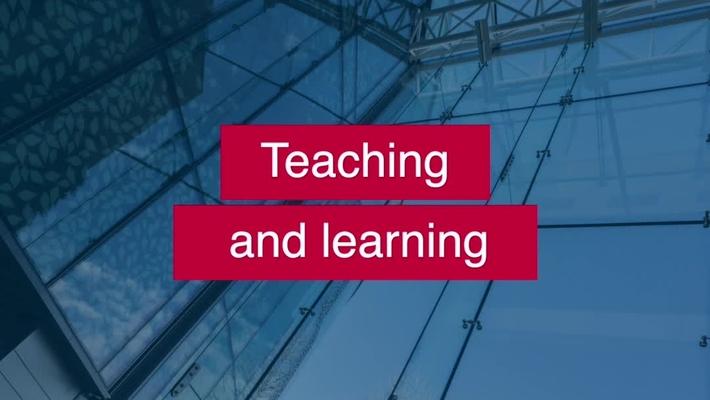 Learning at the University of Edinburgh