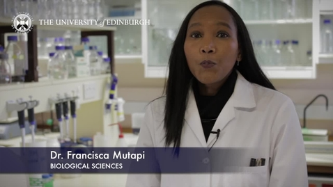 Thumbnail for entry Francisca Mutapi - Biological Sciences- Research In A Nutshell - School of Biological Sciences -05/03/2013