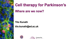 Thumbnail for entry Tilo Kunath & Leona Braund - Parkinson's UK Edinburgh Research Interest Group