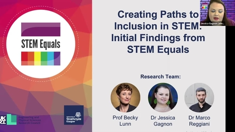 Thumbnail for entry 4th Nov  Creating Pathways to Inclusion in STEM