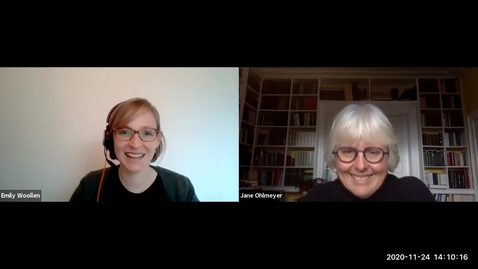 Thumbnail for entry Interdisciplinary Conversations with Prof. Jane Ohlmeyer - 1