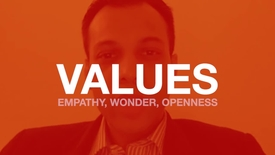 Thumbnail for entry Values: Empathy, Wonder, Openness