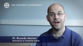 Thumbnail for entry Riccardo Marioni -Biological & Cognitive Aging-Research In A Nutshell- MRC Institute of Genetic and Molecular Medicine-15/04/2014