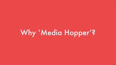 Thumbnail for entry Media Hopper Replay for the University of Edinburgh Festival of Creative Learning 2018