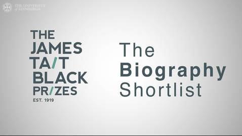 Thumbnail for entry James Tait Black 2021 - Biography shortlist