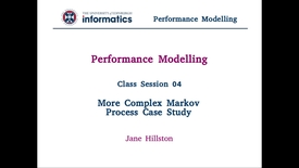 Thumbnail for entry Session 4: More Complex Markov Process Case Study