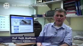 Thumbnail for entry Keith Matthews - Biological Sciences- Research In A Nutshell - School of Biological Sciences -14/11/2012