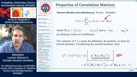 Thumbnail for entry Topic 35: Properties of Correlation Matrices (PETARS, Chapter 5)