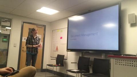 Thumbnail for entry Document Management - UX Showcase lightning talk
