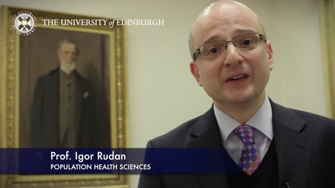 Thumbnail for entry Igor Ruden -Population Health Sciences-Research In A Nutshell- MRC Institute of Genetic and Molecular Medicine-01/03/2012