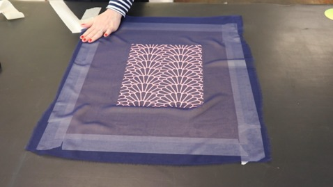 Thumbnail for entry Textiles: Printing on Sheer Fabric
