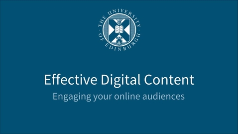 Thumbnail for entry GDPR and web content - Effective Digital Content