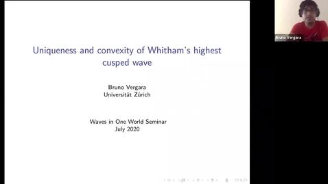 Thumbnail for entry One World Waves - B Vergara