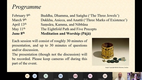 Thumbnail for entry Introduction to Key Concepts 5: Meditation and Puja