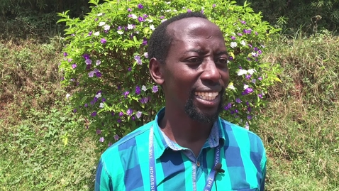 Thumbnail for entry Master of Public Health online: Victor Tumukunde - student testimonial