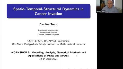Thumbnail for entry UK-APASI in Mathematical Sciences: Dumitru Trucu