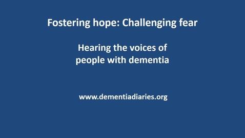 Dementia Diaries