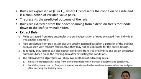 Thumbnail for entry XAI Lecture Recording: InTrees (Part 3)