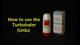 Thumbnail for entry How to use the Turbohaler (Urdu)