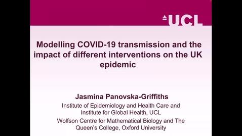 Thumbnail for entry UK-APASI in Mathematical Sciences: Jasmina Panovska-Griffiths (Lecture 2)