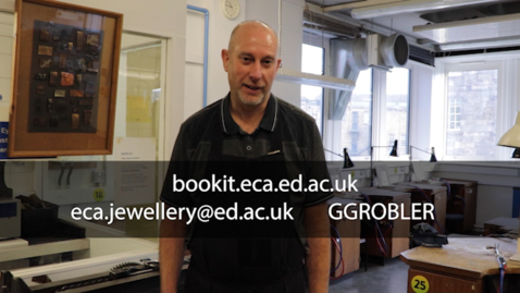 Thumbnail for entry Jewellery and Silversmithing Introduction