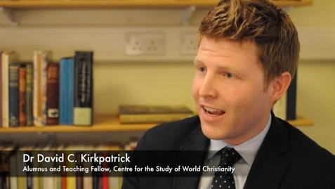 Thumbnail for entry Interview with Dr David C. Kirkpatrick
