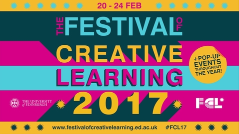 Thumbnail for entry Festival of Creative Learning 2017