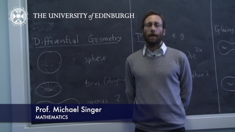 Thumbnail for entry Michael Singer- Mathematics- Research In A Nutshell - School of Mathematics -26/01/2012