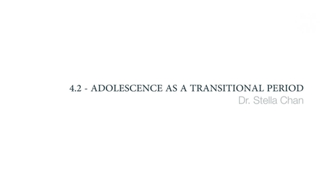 Thumbnail for entry Clinical Psychology of Children and Young People - Adolescence as a transitional period
