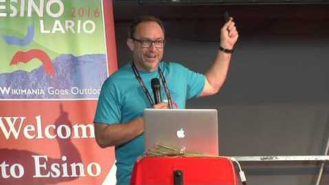 Thumbnail for entry Wikimania 2016, Jimmy Wales opening speech