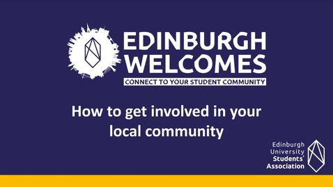 Thumbnail for entry (UG/PG) How-to get involved in your local community