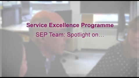 Thumbnail for entry SEP team: Spotlight on. . .part two